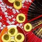 Biscotti kiwitè: omaggio all'antica tradizione del tè Matcha