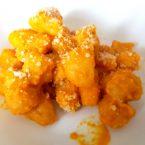 Gnocchi di zucca alla crema di carote e parmigiano: veloci (quasi) quanto un panino!